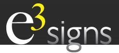 e3 Signs, e3 Signs
